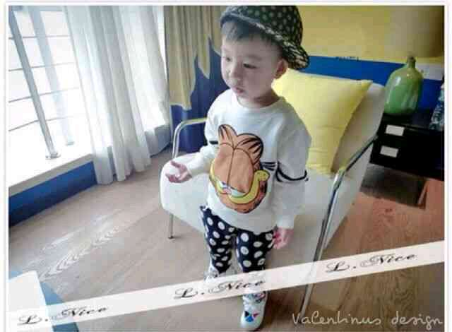 "Baju Atasan Keren Untuk Anak Laki-laki ""LN-Sweater GRFLD Kids"""