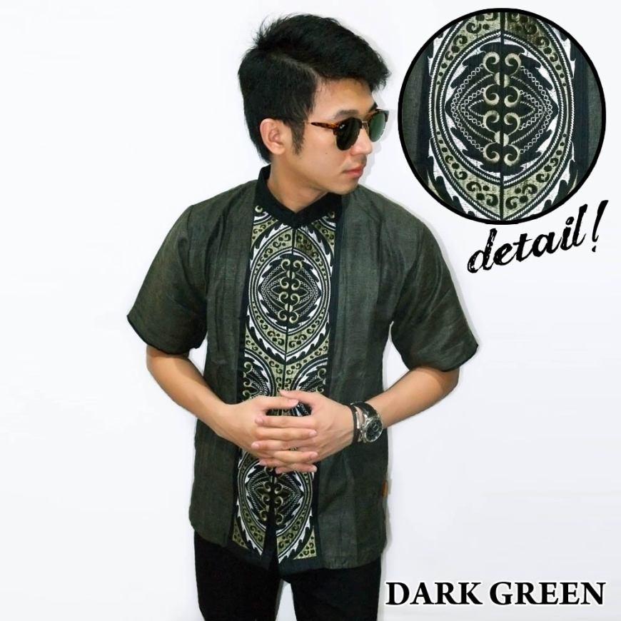Baju Muslim Koko Pria Lengan Pendek Model Terbaru Murah