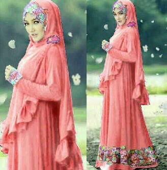 Beranda / Baju Wanita / Long Dress / Busana Muslim Wanita Gamis Syari ...