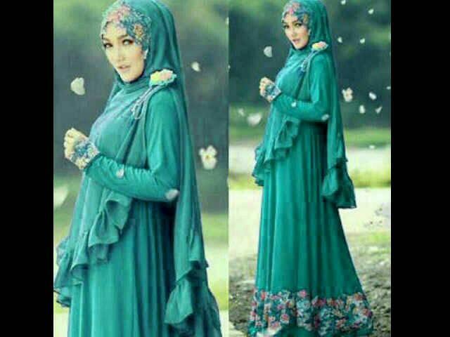 Foto baju gamis murah gamis murni - Model fotobaby ...