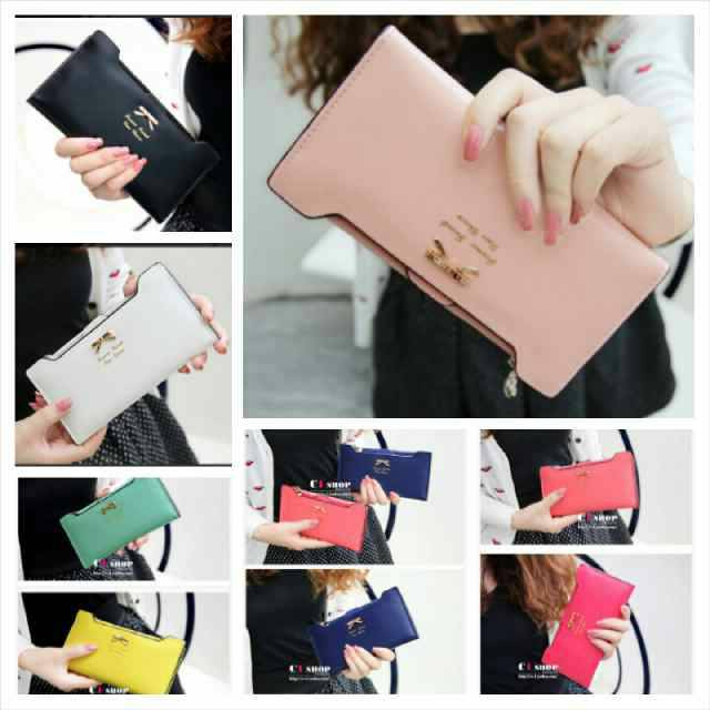 "Dompet Wanita Import Korea Murah ""Ribbon Wallet"""