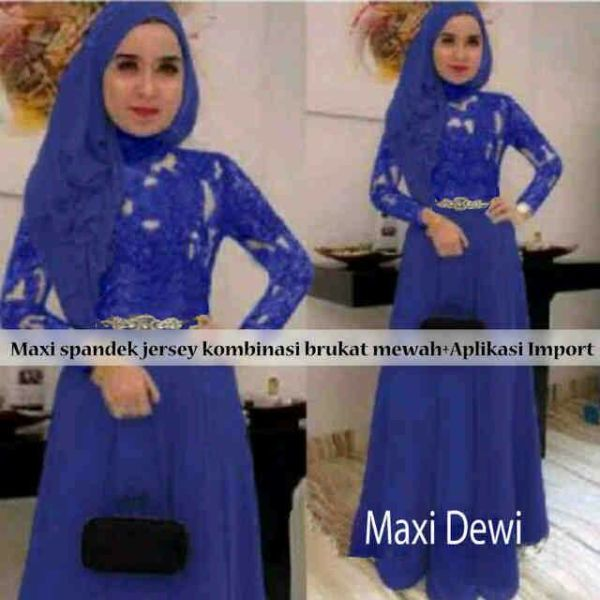 Maxi Dewi Biru
