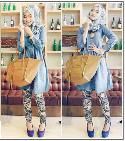 Baju Mini Dress Cantik Lengan Panjang Terbaru & Murah