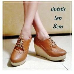 Sepatu Kulit Wedges Modern Model Terbaru & Murah
