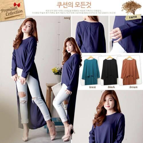 ... Atasan/Blouse / Baju Blouse Atasan Wanita Model Terbaru Cantik & Murah