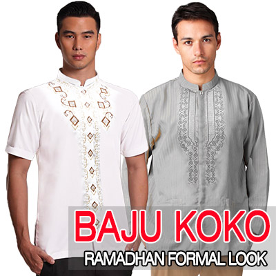 Baju Koko - Kemeja Muslim Ramadhan