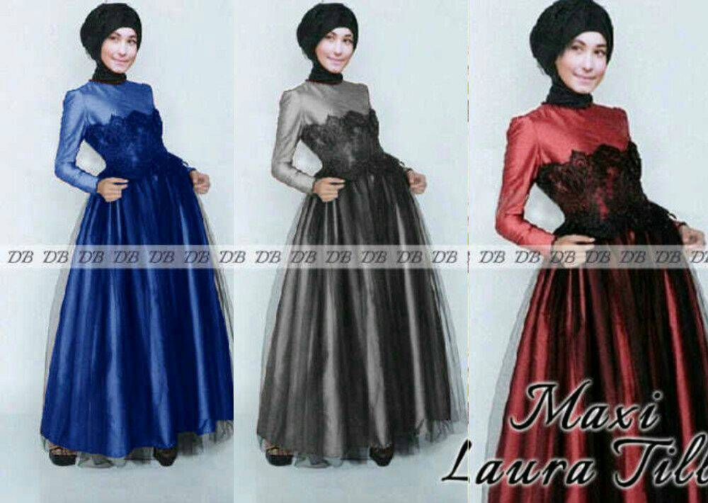 Baju Muslim Long Dress