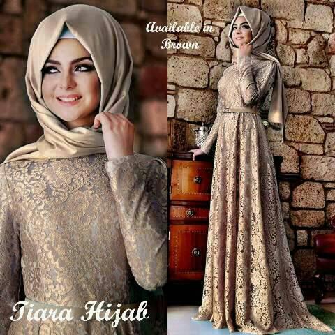 Baju Muslim Brukat Cantik Modern Model Terbaru & Murah