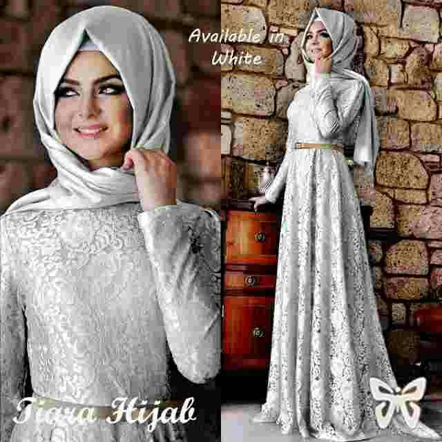 Baju gamis jual baju gamis cantik murah baju gamis Baju gamis putih murah