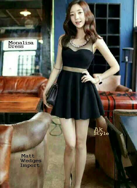 "Baju Super Mini Dress Cantik Import ""Mona Dress"" Terbaru & Murah"