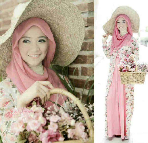 Busana Muslim Wanita Model Terbaru & Murah Lengkap Dengan Long Cardigan