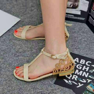 Sandal Teplek (Flat) Cantik Model Terbaru & Murah