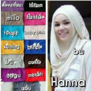 Jilbab Instan Hanna Najwa