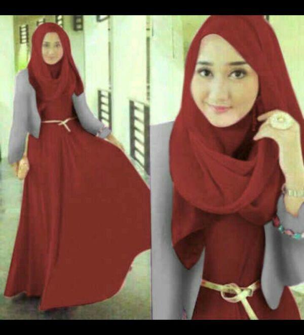 Maxi Busana Muslim Modern Model Terbaru & Murah