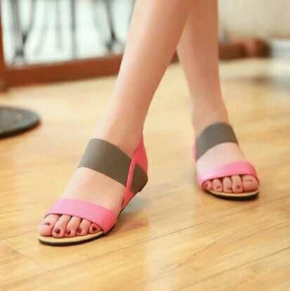 Sandal Teplek Wanita Model Terbaru & Murah Flat Poppy