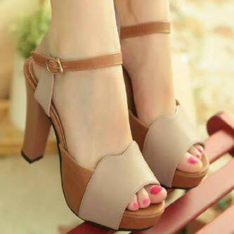 Sepatu Sandal High Heels Wanita Cantik Model Terbaru & Murah