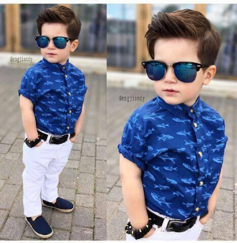 """Setelan Baju dan Celana Anak Laki-laki Model Terbaru """"Morgan Kids"""""""