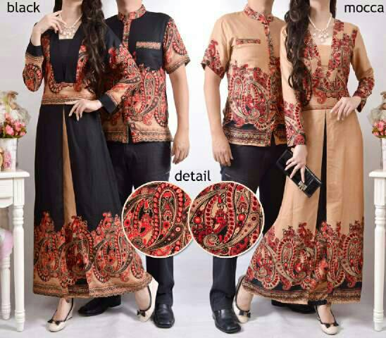 ... / Couple Muslim / Baju Couple Batik Muslim Model Terbaru & Murah