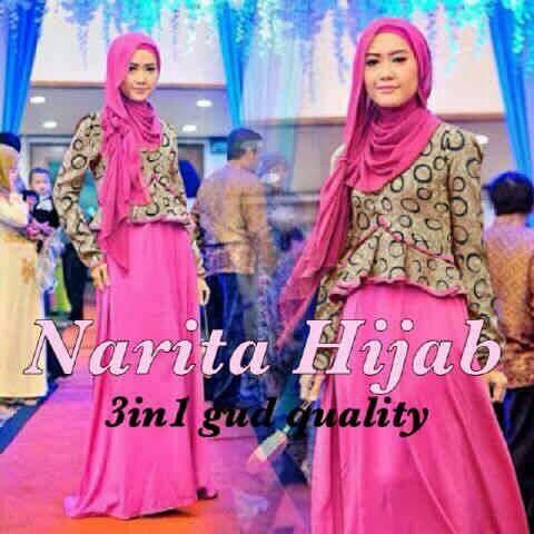 Baju Gamis Muslim Modern Cantik Model Terbaru & Murah