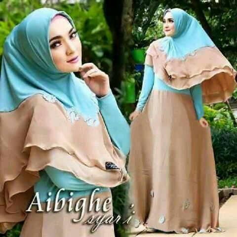 Baju Gamis Muslim Syari Murah Modern & Cantik Model Terbaru