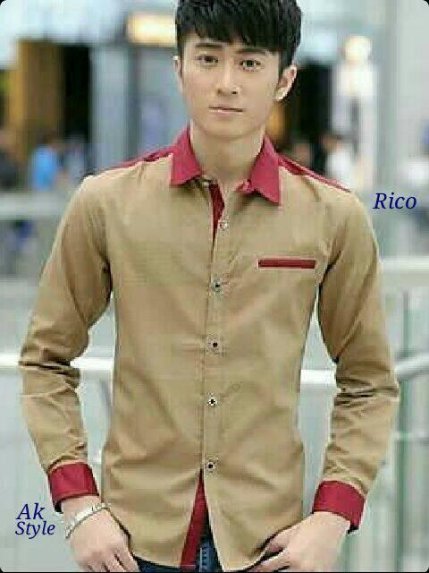 Baju Kemeja Pria Lengan Panjang Model Terbaru & Murah