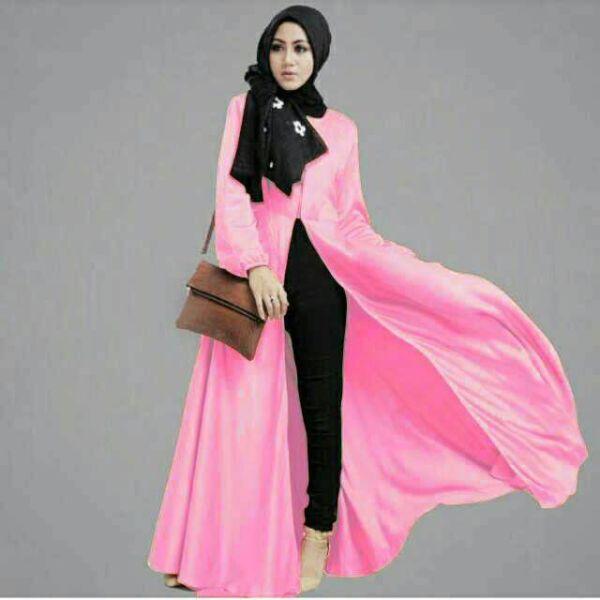 Hijab / Baju Setelan Hijab Long Cardigan Cantik Model Terbaru & Murah