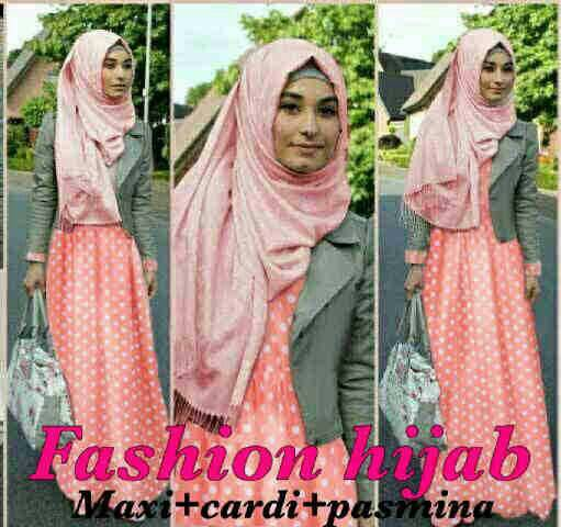 Busana Long Dress Muslim Modis Hijab Terbaru & Murah