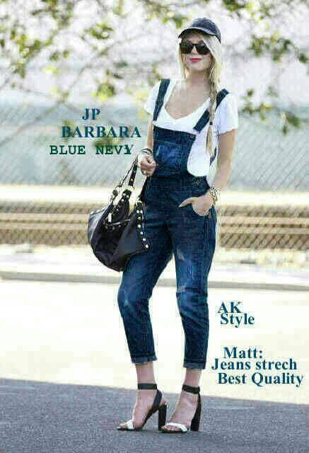 Celana Jumpsuit Jeans Panjang Model Terbaru & Murah