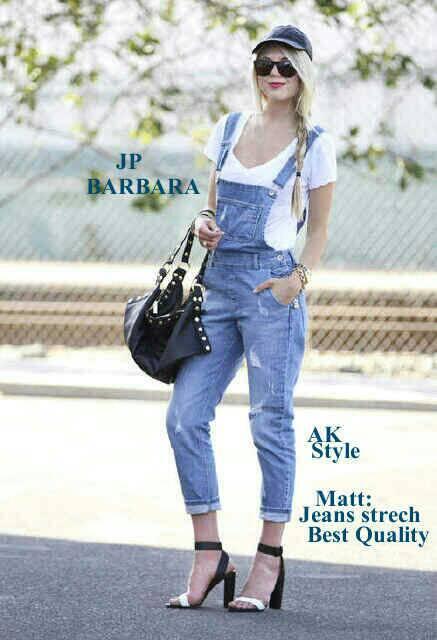 Celana Jumpsuit Jeans Panjang Model Terbaru Murah Ryn Fashion