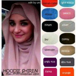 Jilbab Instan Hoodie Cantik Shireen Model Terbaru & Murah