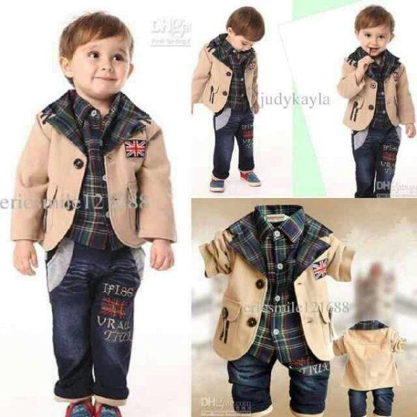 Setelan Baju Blazer Celana Anak Laki Laki Model Terbaru