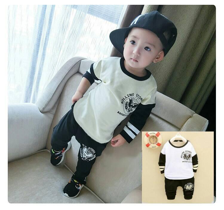 Setelan Baju & Celana Anak Laki-laki Model Terbaru & Murah