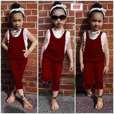 Setelan Baju & Jumpsuit Lucu Anak Perempuan Model Terbaru & Murah