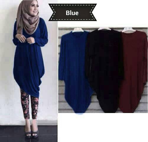 Baju Atasan Blouse Hijab Cantik Model Terbaru & Murah