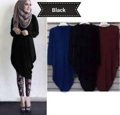 Baju Atasan Blouse Hijab Cantik Model Terbaru Murah