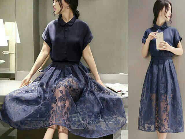 Baju Dress Pendek Modern Cantik Model Terbaru & Murah