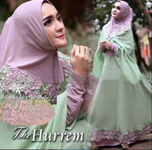 Baju Gamis Muslim Syar'i Modern Cantik Terbaru & Murah