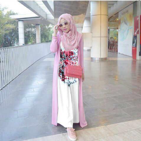 "Baju Muslim Wanita Setelan Hijab ""Alila Spring"" Cantik & Murah"