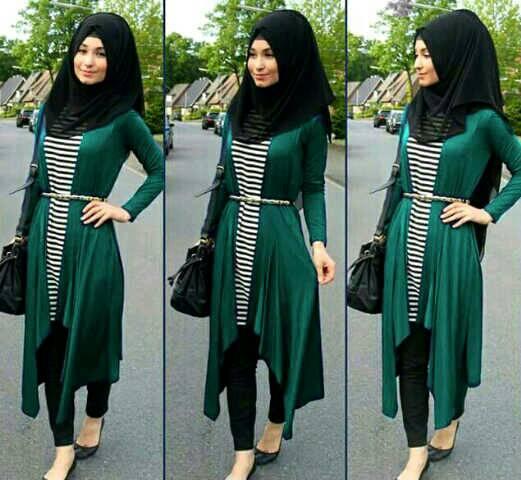 Baju Setelan Hijab 4in1 Model Terbaru Cantik & Murah