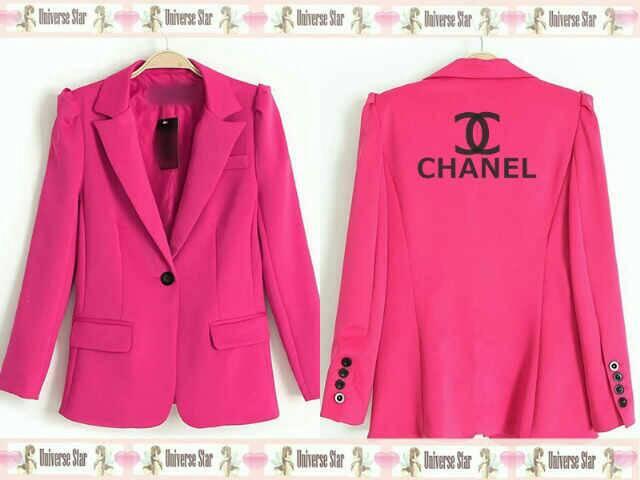 Jaket Blazer Wanita Pink Cantik Model Terbaru Amp Murah