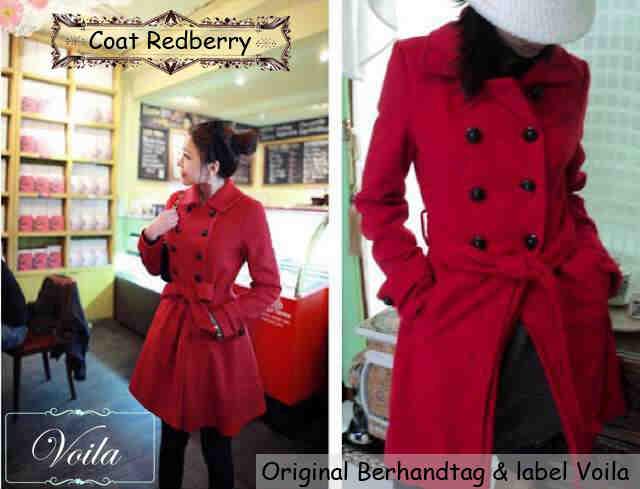 Jaket Coat Wanita Trendy Model Terbaru & Murah