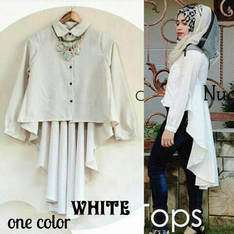 """Baju Atasan Wanita """"Blouse Hijab"""" Terbaru Cantik & Murah"""