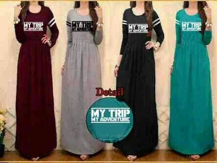 Baju Long Dress My Trip My Adventure (MTMA) Terbaru Cantik & Murah