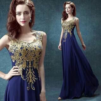 Baju Maxi Long Dress Renda Cantik Model Terbaru & Murah
