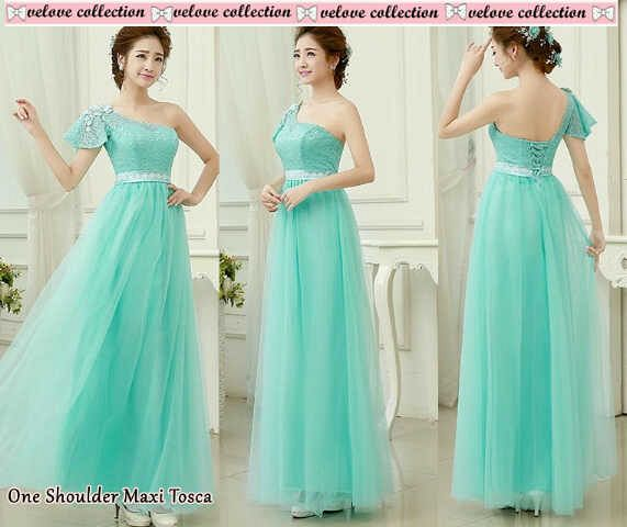 Gaun Long Dress Maxi Tosca Cantik Terbaru & Murah