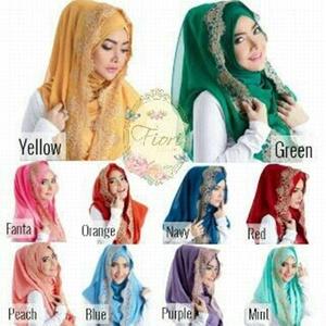 Jilbab Instan Hoodie Deeja KD Model Terbaru Cantik & Murah