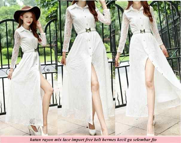 Long Dress Baju Terusan Wanita Model Terbaru Cantik & Murah