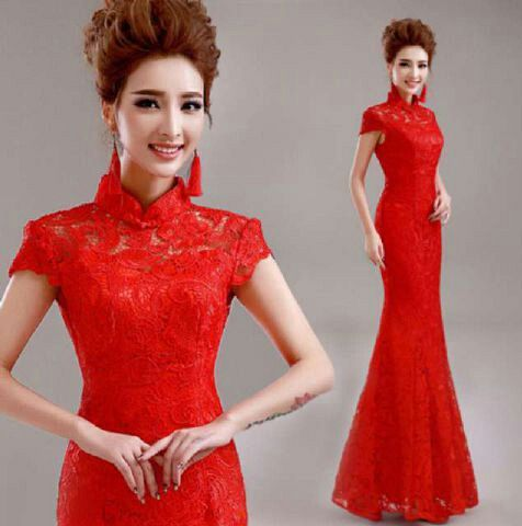 "Baju Long Dress Chinese ""Maxi Jiali"" Cantik & Murah"