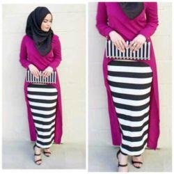 Baju Muslim Setelan Hijab 3in1 Model Terbaru & Murah