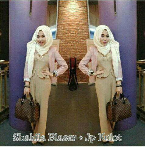 Baju Set Jumpsuit Hijab 3in1 Model Terbaru & Murah